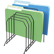 Wire desk file sorter
