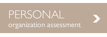 Free Personal Organization Assessment